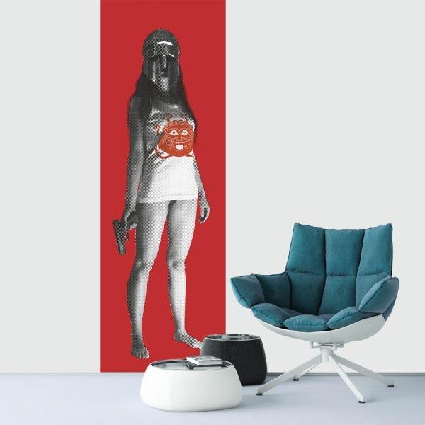 Athena Promachos Rouge